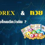 Forex กับ หวย แบบไหนดีกว่ากัน ?
